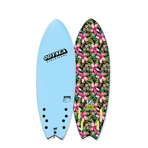 Catch Surf Odysea 5'6'' Skipper Pro - JOB Quad - Sky Blue by Odysea