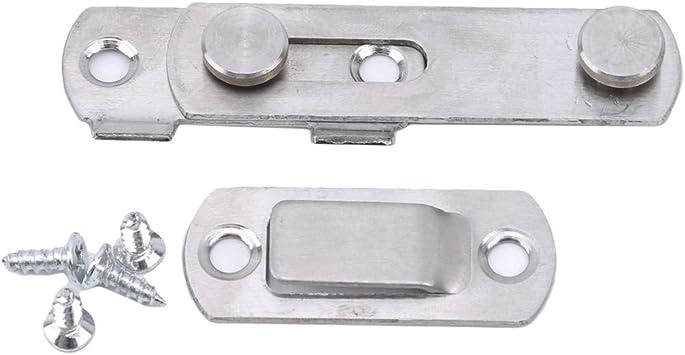 LGJJJ - Cerradura antirrobo para Puerta corredera (Acero Inoxidable), Acero Inoxidable, Als Bild, Klein: Amazon.es: Hogar