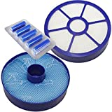 First4Spares Washable Pre & HEPA Post Motor Filter Kit With Fresheners For Dyson DC33 Vacuums