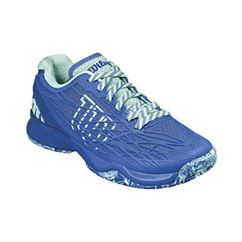 Wilson Wrs323430e075, Chaussures de Tennis Femme, Bleu (Amparo Blue / Surf the Web / Aruba Blue), 41 1/3 EU