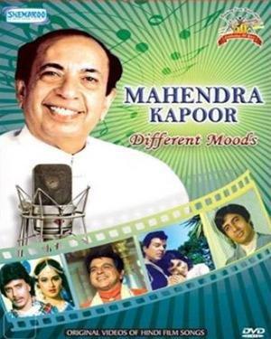 Amazon.com: Mahendra Kapoor - Different Moods (Original Videos Of Hindi Film  Songs / Mahendra Kapoor's Hit Music Videos): Movies & TV