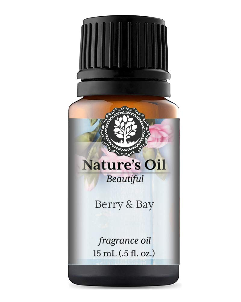 Berry & Bay Fragrance Oil (15ml) For Perfume, Diffusers, Soap Making, Candles, Lotion, Home Scents, Linen Spray, Bath Bombs, Slime