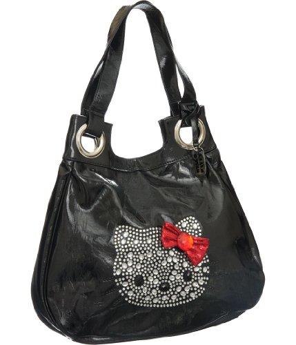 Patent Hobo Large Leather (Hello Kitty Large Hobo bag)