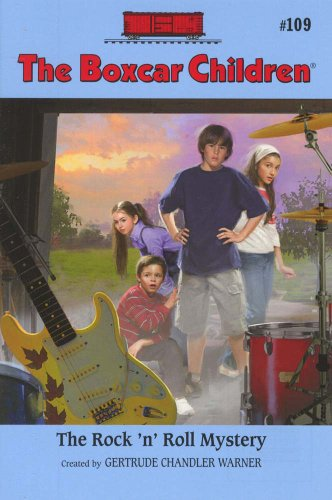 The Rock 'n' Roll Mystery (Boxcar Children Mysteries) - Book #109 of the Boxcar Children
