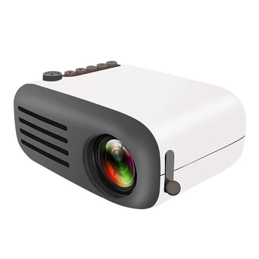 ALWAYZZ YG200 Mini Proyector LED portátil de Alta definición 24-60 ...