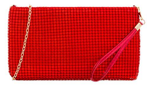 Clutch Chainmail Girly Girly HandBags Girly Clutch Scarlet Chainmail HandBags Clutch Scarlet Chainmail Bag HandBags Bag 45pZwwxq