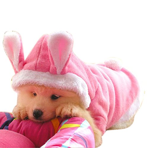 NACOCO Dog Rabbit Costume Pet Puppy Hoodies Clothes