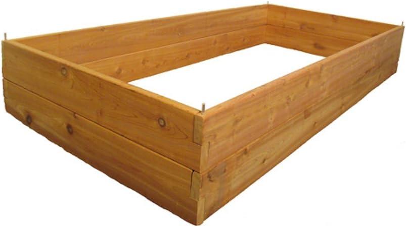 Cedar Raised Planter Bed 3 X 6 Free Shipping !!