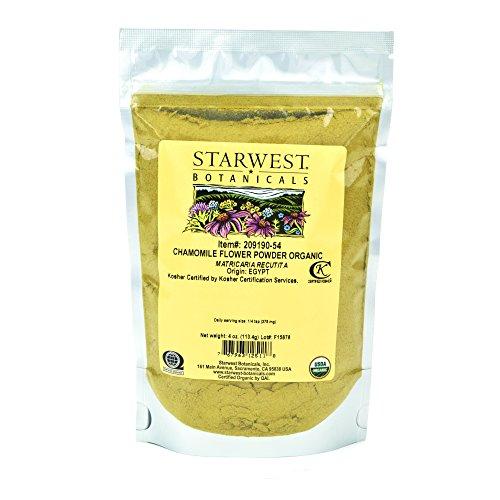 Starwest Botanicals Organic Chamomile Flower Powder