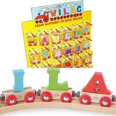 Vilac Letter V Train Toy Ovente 992