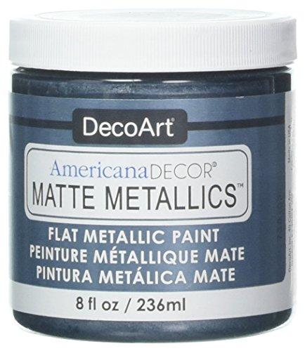Deco Art Americana Decor Matte 8OZ Pewter Craft -
