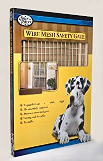 Four Paws Extra Tall Wood Frame Dog Gate with Coated Wire (B0002ATB4E) | Amazon price tracker / tracking, Amazon price history charts, Amazon price watches, Amazon price drop alerts