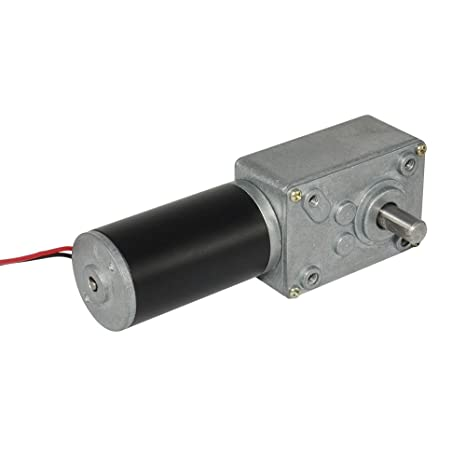 12 Volt Motor >> Tsiny Small High Torque 12 Volt Reversible 35 Rpm Dc Worm Gear Motor For Bbq Drive Replacement