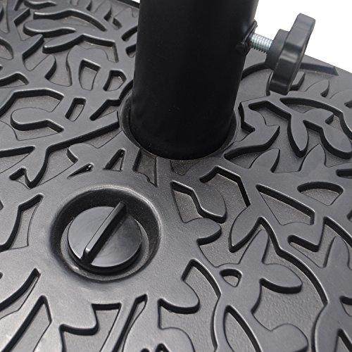 ELEGAN Hard Plastic Patio Umbrella Base/Stand by ELEGAN (Image #5)