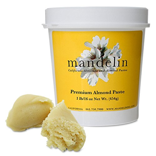 Mandelin Premium Almond Paste (1lb) (Premium Paste)