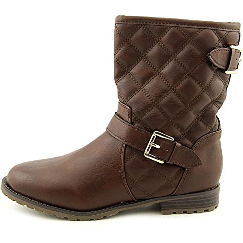 Sporto Brown Detail Womens Buckle Boot Quilted with wwFxq71