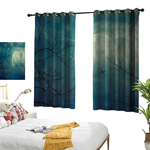 Luckyee Customized Curtains,Horror House,63