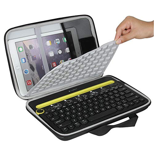 Hermitshell Travel Case Fits Logitech K480 Bluetooth Multi-Device Keyboard