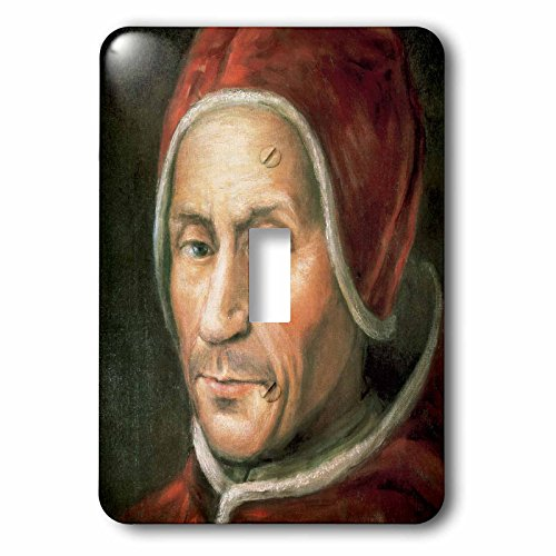3dRose lsp_83013_1 Painting Of Adrian Vi, Dutchman Pope, ...