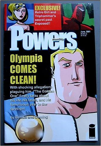 powers comics monthly june 2001