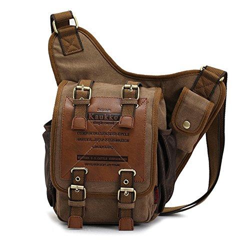 APG Canvas Leather Shoulder Bag
