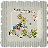 Meri Meri Party Plates, Peter Rabbit Scallop Edge - Small