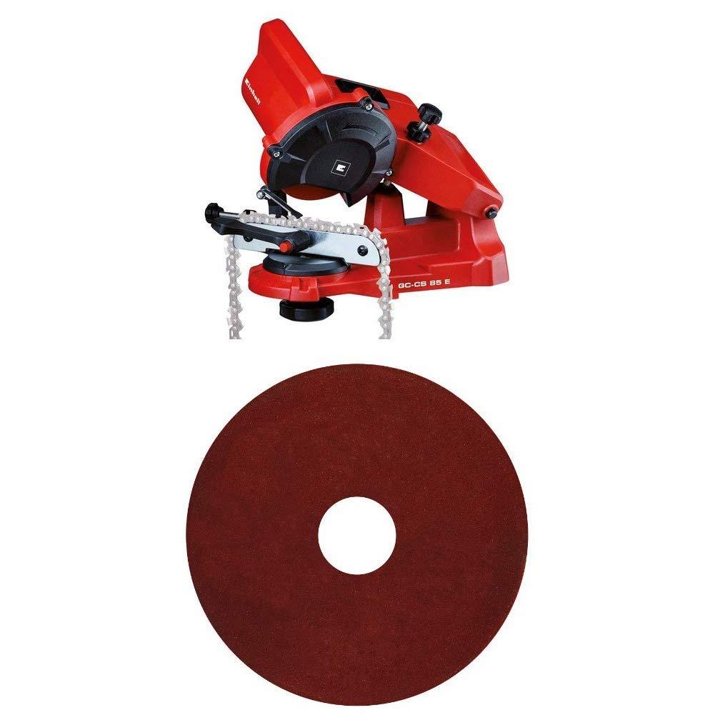 5500Giri//Min Rosso /& Mola di ricambio 4,5 mm 85 W 230 V Einhell 4499920 GC-CS 85 E Affilacatene per Motoseghe