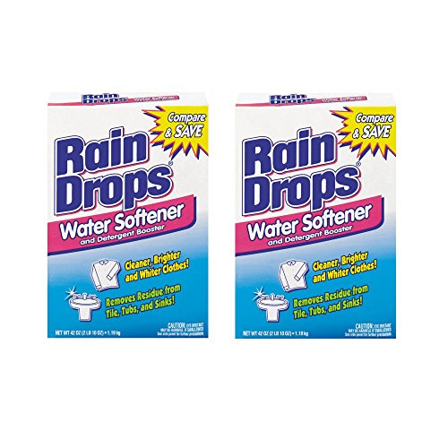 Rain Drops Water Softener, 42 Ounce (Pack of ()