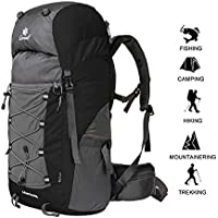 50L Outdoors Camping Climbing Hiking Backpack Pack For Men Women