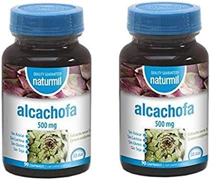 DIETMED ALCACHOFA 500 MG 180 Comprimidos en dos botes, diurético natural, potente détox, depurativo del hígado y colon. Adelgaza. Formula sin azúcar, sin lactosa, sin gluten, sin soja, apto veganos