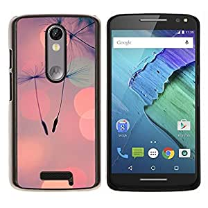 Stuss Case / Funda Carcasa protectora - Luces del foco de ciudad de naturaleza - Motorola Moto X ( 3rd Generation )