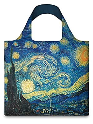LOQI The Starry Night Reusable Shopping Bag