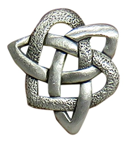 - Lindsay Claire Celtic Knot Pewter Lapel Pin By