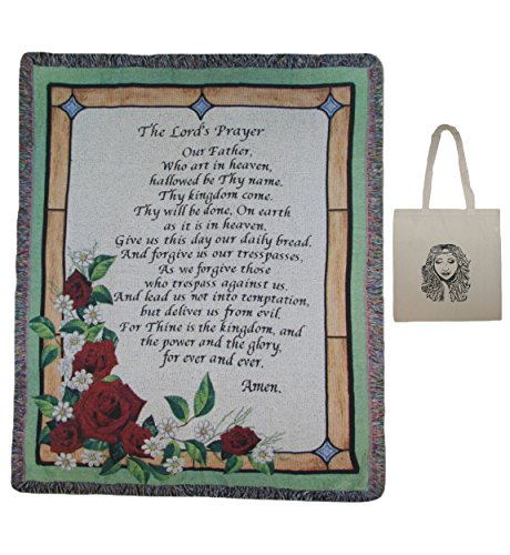 Lords Prayer Tapestry (The Lord's Prayer Stained Glass 50