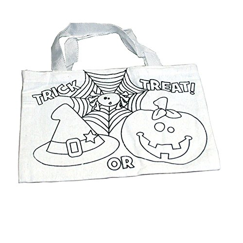 Color Your Own Halloween Tote