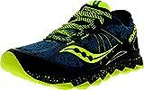 Saucony Men's Nomad TR Running Shoe, Deepwater/Citron,11.5 M US