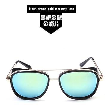 MOJINGYAN Gafas De Sol,Oro 2019 Gafas De Sol Reflejados Los ...