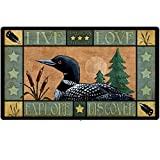 Lodge Series Loon Tempered Glass Cutting Board