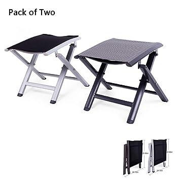 Awe Inspiring Amazon Com Stylowy Lightweight Aluminum Folding Stool Ibusinesslaw Wood Chair Design Ideas Ibusinesslaworg
