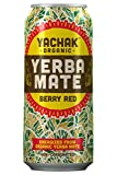Yachak Yerba Mate Drink, Berry Red, 15.5 Fl