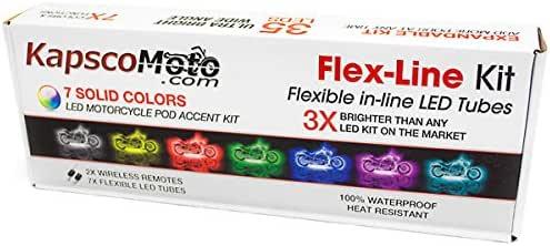 KapscoMoto 5x Flex-Line Accent Light Kit Expansion Flex Line Tube Tube Only