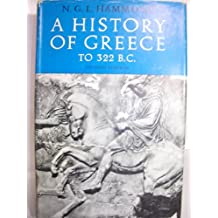 A History of Greece to 322 B. C