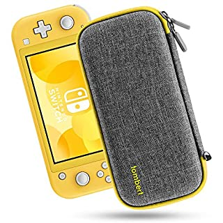 Tombert Carying case for Switch Lite - Ultra Slim Hard Shell Protection - Yellow