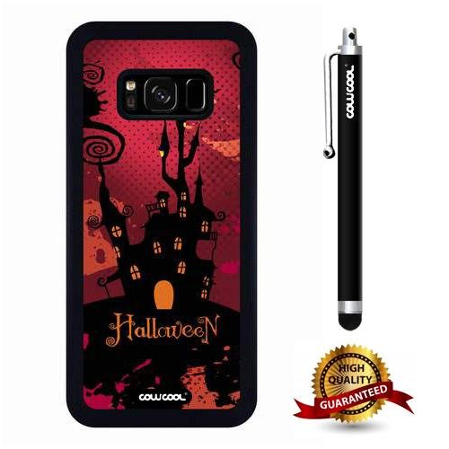Galaxy S8 Case, Halloween Case, Cowcool Ultra Thin Soft Silicone Case for Samsung Galaxy S8 - Halloween Magic -