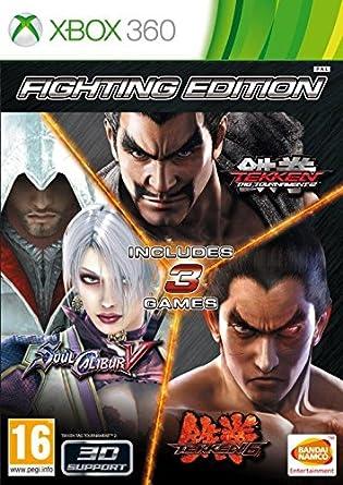 Amazon Com Fighting Edition Tekken 6 Tekken Tag Tournament 2 And Soul Calibur V Video Games