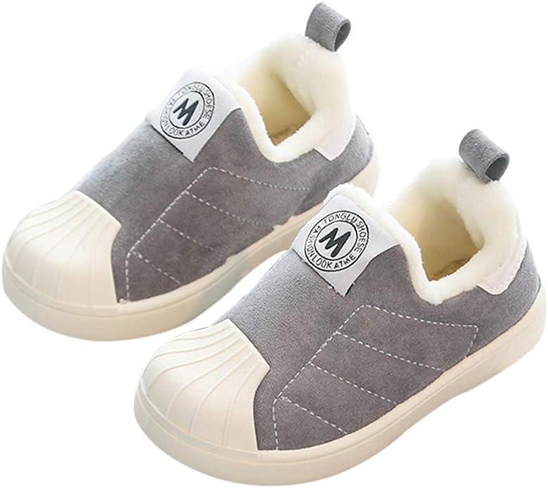 DEBAIJIA Chaussures pour Tout-Petits 1-5T B/éb/é Premi/ère Marche Enfant Semelle Souple Cotton Mignon Bowknot