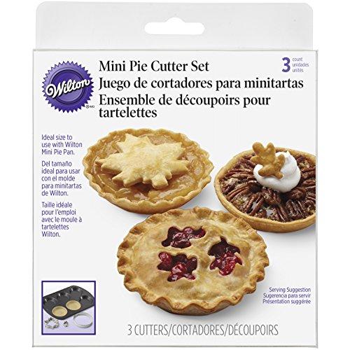 (Wilton Mini Pie Cutter Set,)