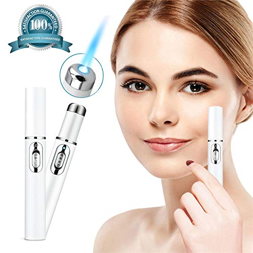 Skin Eraser Powerful Pen Blue Light Machine For, Acne Scar Removal, Improve Skin Elasticity,Skin Tightening Wrinkle Removal (Laser Spot Remover)