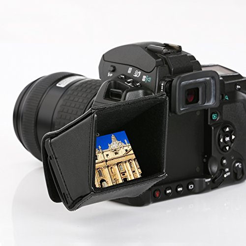 "Movo LH30 Camera LCD Hood Shade for Flip-Out DSLR and Camcorder LCD's (3"" Screens) from Movo"