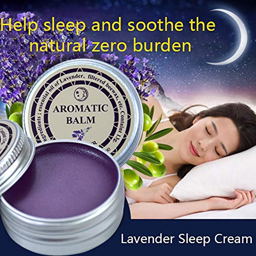 Effective Lavender Aromatic Balm Help Sleep Soothing Cream Essential Oil Insomnia Treatment Relieve Stress Anxiety Cream By Shouhengda